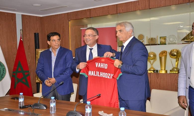 لقجع: العقد الموقع مع خليلوزيتش يتضمن التأهل لنصف نهاية كأس إفريقيا ونهائيات كأس العالم 2022