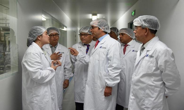 الدكالي يطلع بشنغهاي على التجربة الصينية في مجال صناعة الأدوية