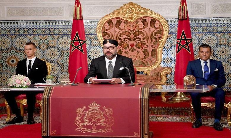 جلالة الملك يوجه اليوم الثلاثاء خطابا ساميا إلى الأمة بمناسبة ثورة الملك والشعب