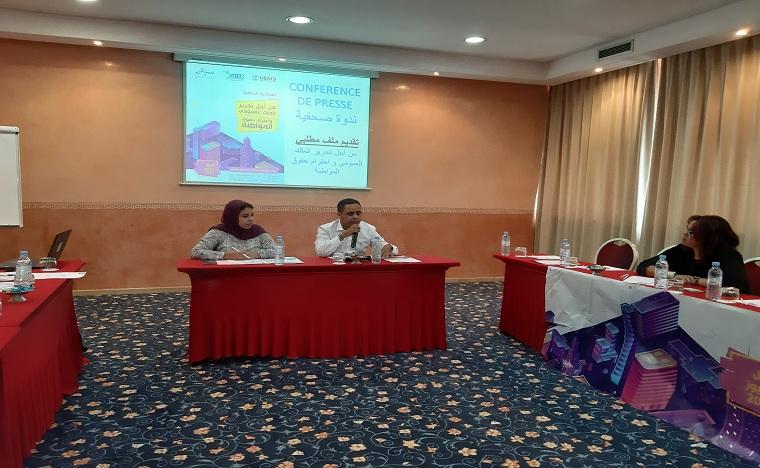 جمعية التحدي للمساواة والمواطنة تناقش موضوع تحرير الملك العمومي بالدار البيضاء واحترام حقوق المواطنة