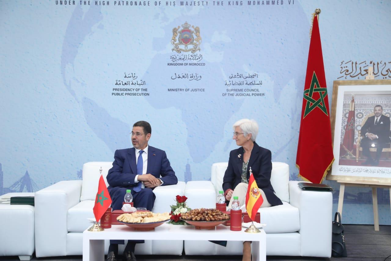 عبد النباوي يلتقي رئيس المحكمة العليا بالجزائر والمدعي العام التركي و الإسباني