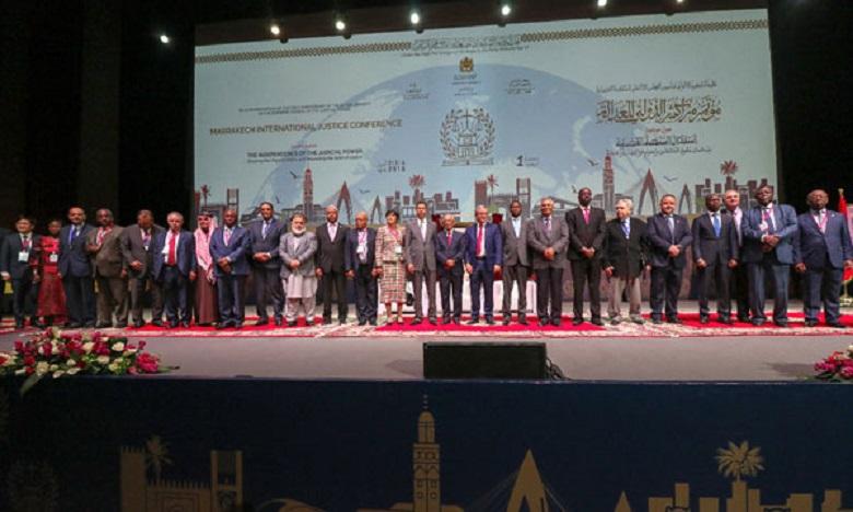 """80 دولة تناقش بمراكش """"العدالة والاستثمار"""" في الدورة الثانية للمؤتمر الدولي للعدالة"""