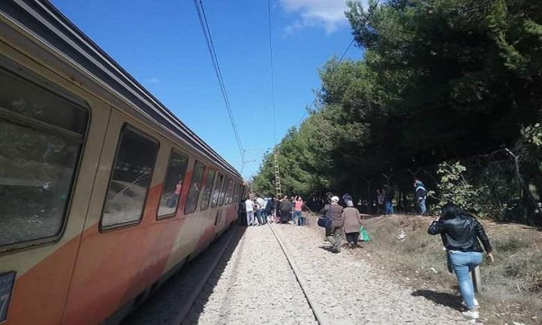 انحراف قطار عن سكته بالقرب من بوسكورة دون وقوع إصابات