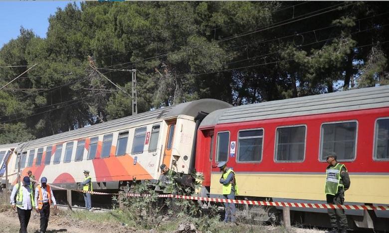 بعد انحراف قطار عن سكته ..الأشغال متواصلة لإعادة حركة السير إلى طبيعتها