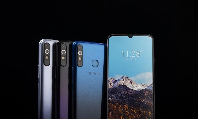 إنفنكس تطلق هاتف Hot 8 بسعة بطارية تدوم 4 أيام