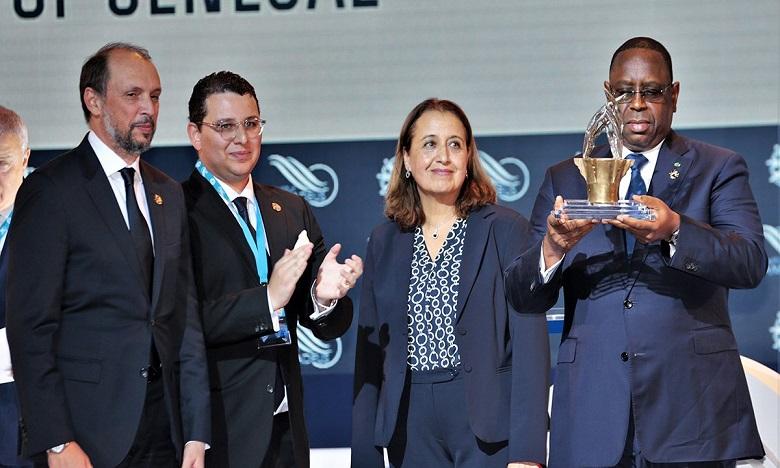 رئيس السنغال ماكي سال يتسلم بطنجة الجائزة الكبرى ميدايز 2019