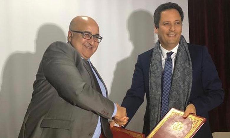 توقيع شراكة بين الشركة العامة وجامعة محمد الخامس بالرباط