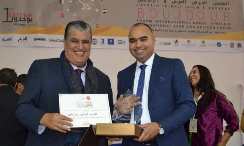 عزالدين خمريش رئيسا للمنتدى العربي والإفريقي للحوار والتعايش السلمي ونشر قيم السلام والتسامح