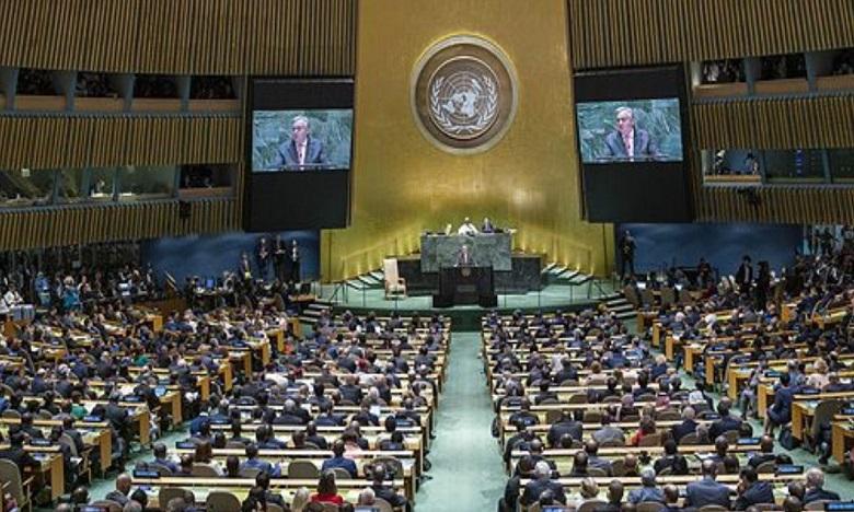 الجمعية العامة للأمم المتحدة تجدد دعمها للمسار السياسي الهادف إلى إيجاد تسوية لقضية الصحراء المغربية