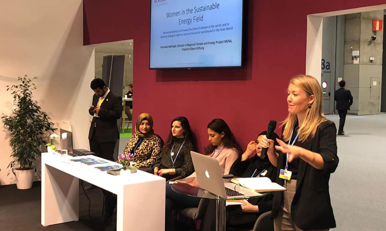 خبراء بيئيون يطالبون بمدريد دعم المرأة العربية لتتقلد أدوار قيادية في قطاع الطاقة