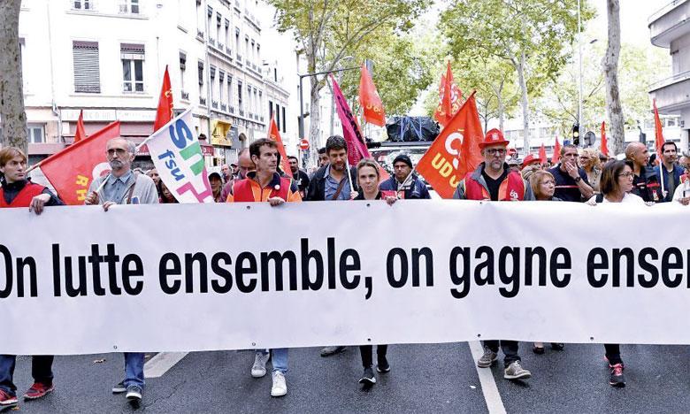 تظاهرات وإضرابات في فرنسا احتجاجا على تعديلات في نظام التقاعد