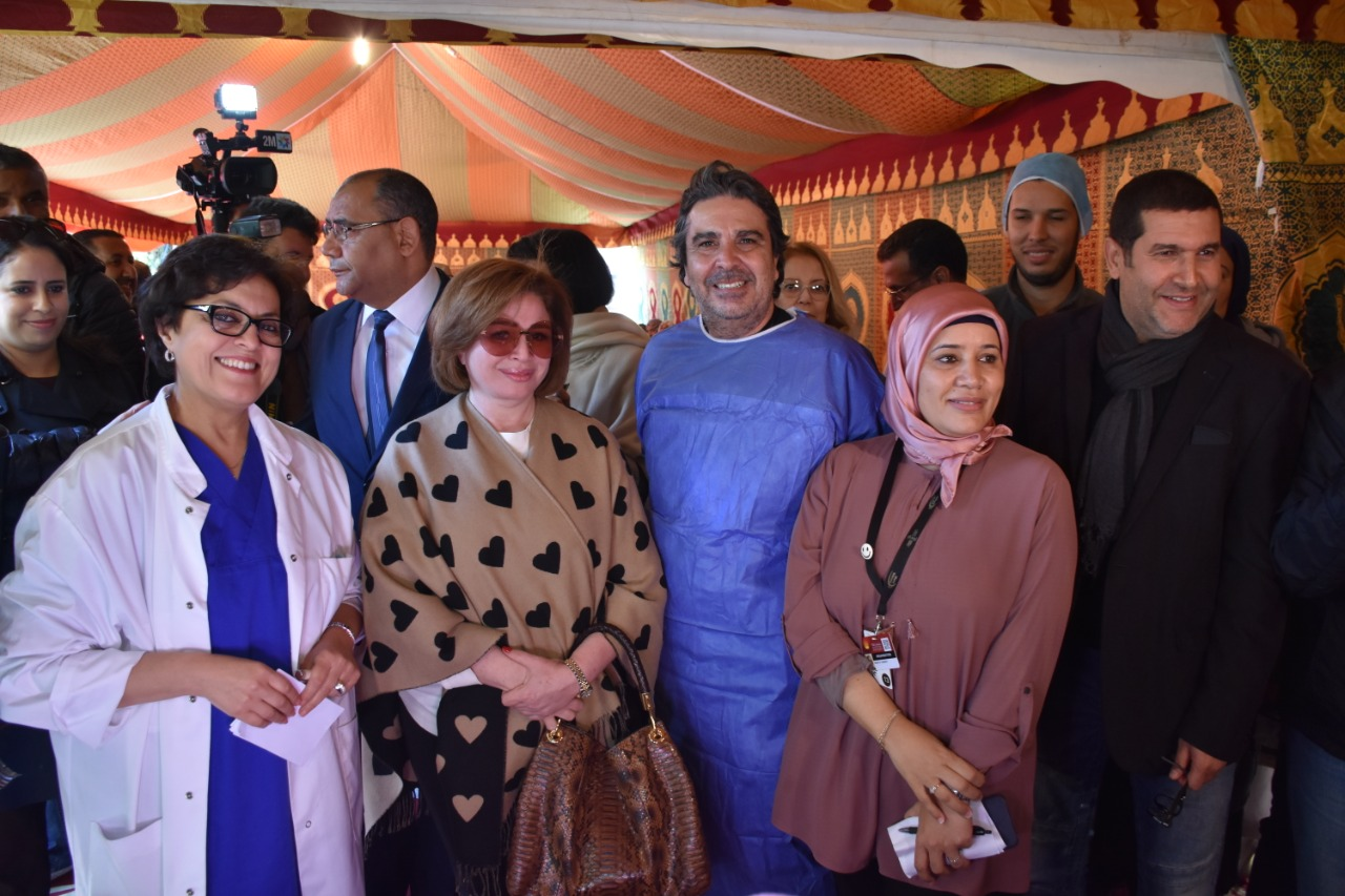 إلهام شاهين: بكيت بعد الحديث مع أم مغربية وأشعر بالتقصير في حق هيثم أحمد زكي