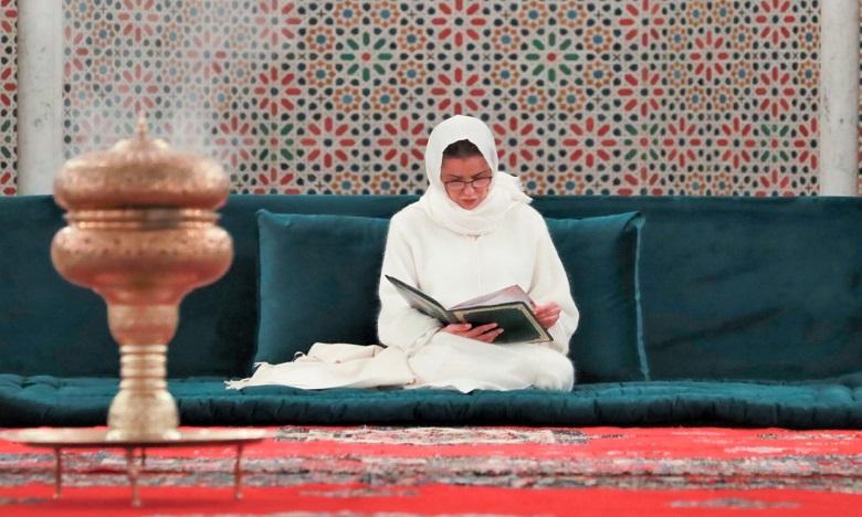 صاحبة السمو الملكي الأميرة للا مريم تترأس حفلا دينيا إحياء للذكرى الحادية والعشرين لوفاة جلالة المغفور له الملك الحسن الثاني