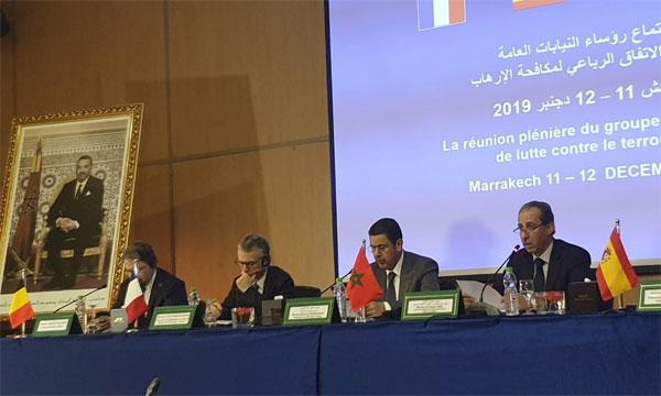 رؤساء النيابات العامة بالمغرب وإسبانيا وفرنسا وبلجيكا يرسمون بمراكش معالم التعاون الأمثل لمكافحة الإرهاب