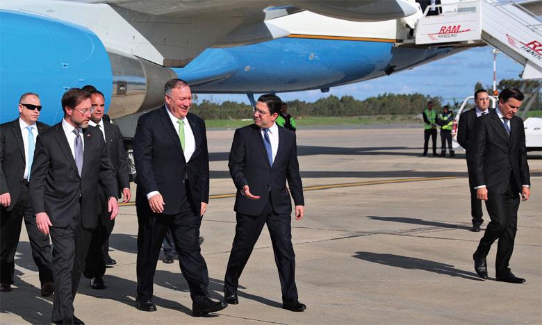 وزير الخارجية الأمريكي في زيارة رسمية للمغرب