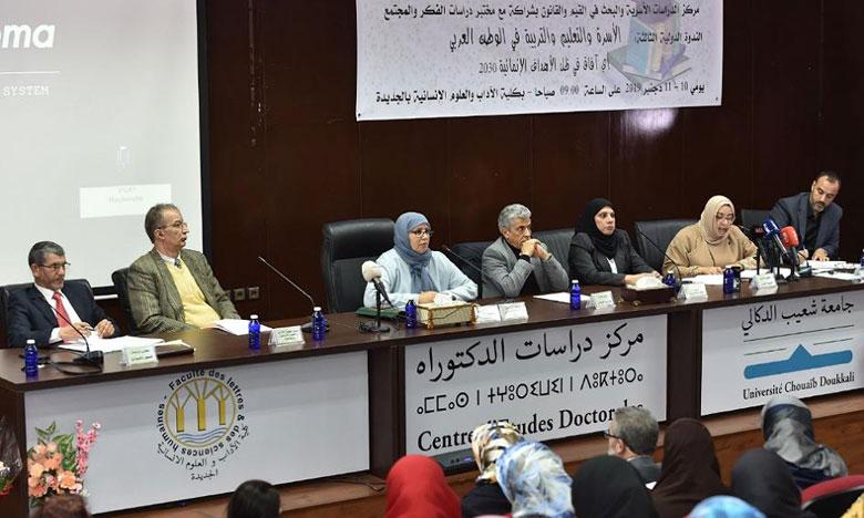 الجديدة: باحثون مغاربة وأجانب يناقشون واقع الأسرة والتعليم والتربية في الوطن العربي
