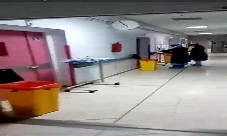شريط فيديو يكشف المجهودات المبذولة من طرف العاملين بمستشفى الرازي بمراكش