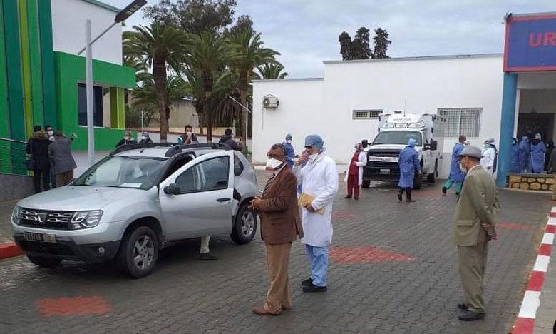 مغادرة 4 حالات مستشفى سيدي سعيد بمكناس بعد شفائها من كورونا