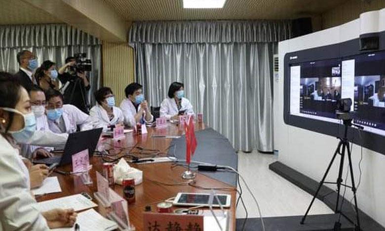 خبراء صينيون ومغاربة يتقاسمون تجربتهما في مكافحة فيروس كورونا عبر الفيديو