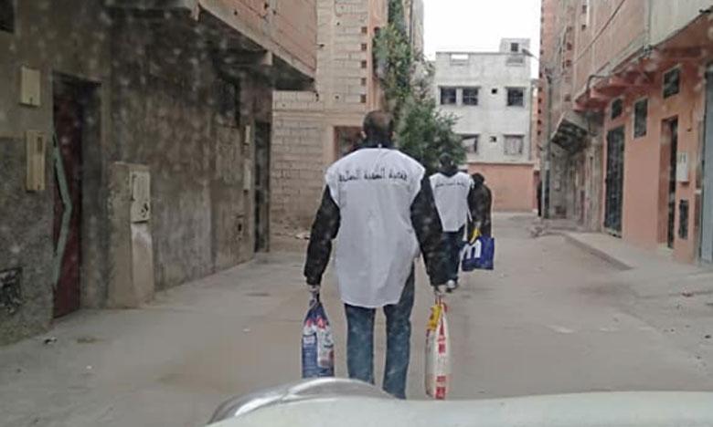 مبادرات إنسانية تستهدف الأسر المعوزة بإقليمي شيشاوة والحوز