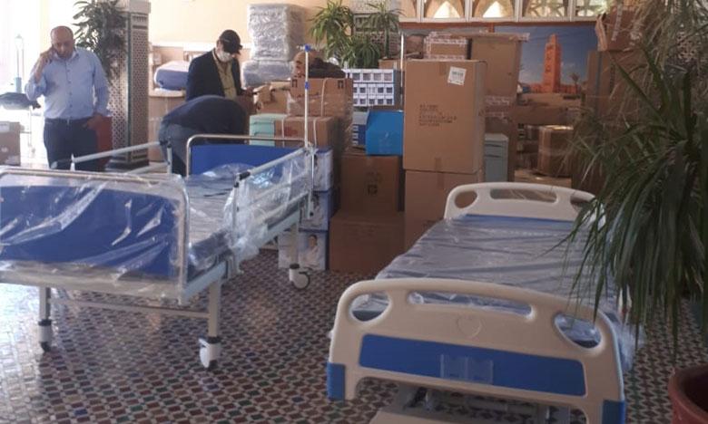 تزويد مستشفيات جهة مراكش آسفي بأجهزة ومعدات طبية لمواجهة فيروس كورونا