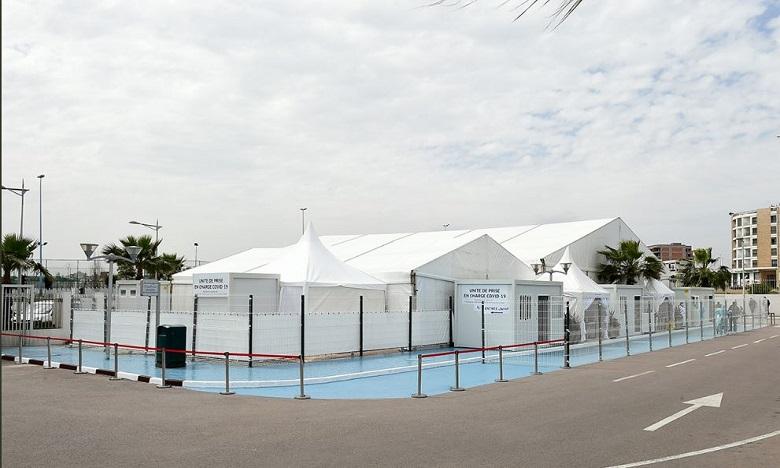 الدار البيضاء: جامعة محمد السادس لعلوم الصحة تقيم وحدة للتكفل بالمصابين بفيروس كوفيد -19