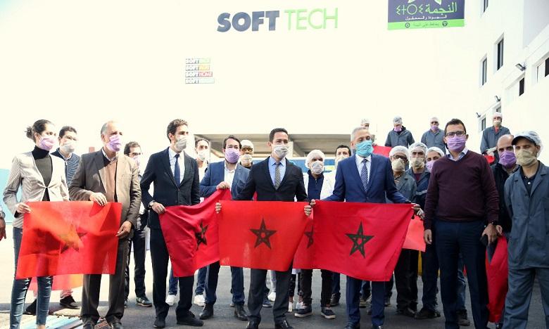 كوفيد -19: المغرب يتجه نحو إنتاج 5 مليون كمامة اعتبارا من الثلاثاء القادم