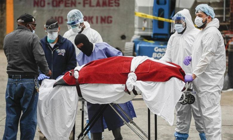 الحصيلة الأضخم في العالم... وفاة 2000 شخص بكورونا في أمريكا خلال 24 ساعة