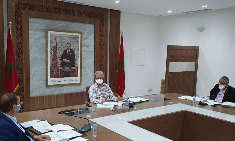 تدارس الوضعية المائية على مستوى عمالة مراكش محور اجتماع ترأسه والي الجهة
