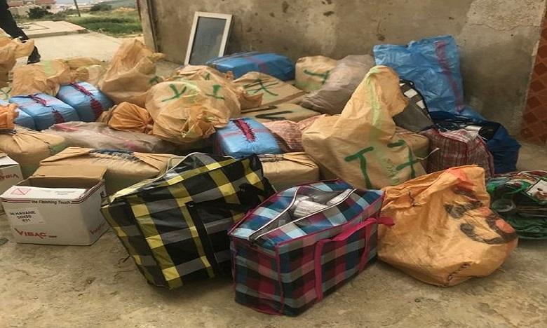 طنجة: حجز شحنة من المخدرات يبلغ وزنها الاجمالي 863 كلغ