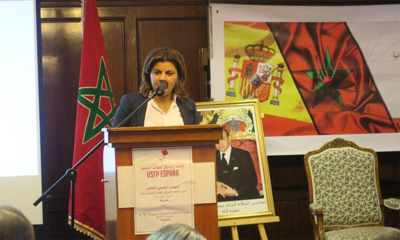 الكاتبة الإقليمية للاتحاد الاشتراكي في اسبانيا: اليوسفي  ترك بصمة اعتراف وتقدير بين مغاربة الداخل والخارج