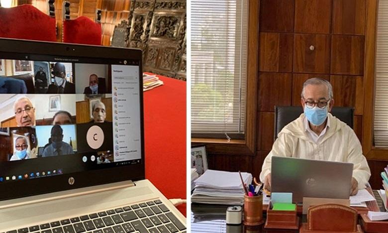 فارس يقود استراتيجية تدبير مرحلة ما بعد الحجر الصحي وتأكيد على الانخراط في آليات المحكمة الرقمية