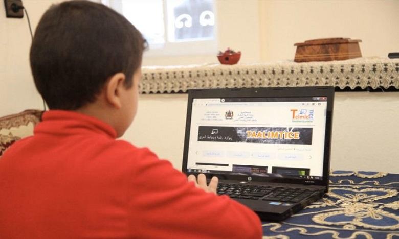 منظومة معلوماتية لتمكين التلاميذ من الولوج المجاني إلى منصة التعليم عن بعد TelmidTICE