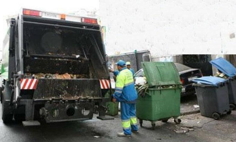 مصرع عامل نظافة دهسته شاحنة كبيرة لنقل الأزبال  بآسفي