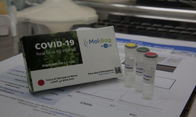 """تصميم طقم تشخيص لفيروس """"كوفيد-19"""" مغربي 100 بالمائة"""