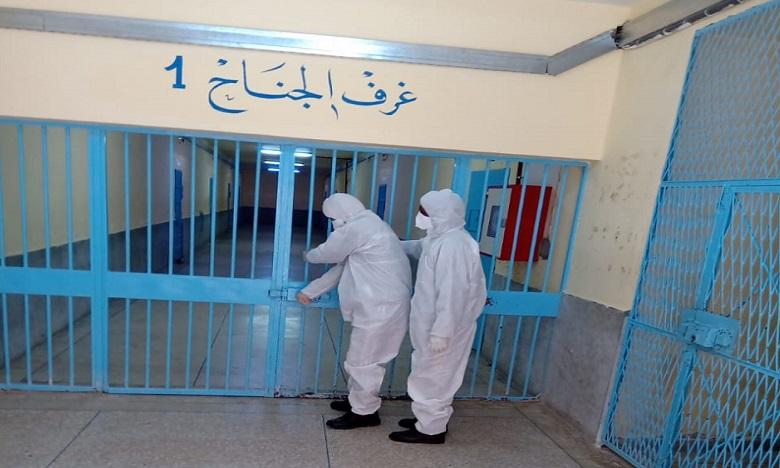 """مندوبية السجون تؤكد خلو 75 مؤسسة سجنية من فيروس """"كوفيد 19"""""""