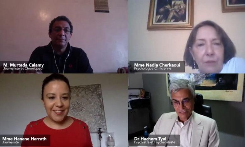 مؤسسة التجاري وفا بنك تناقش الحالة النفسية للمغاربة  في زمن الحجر الصحي