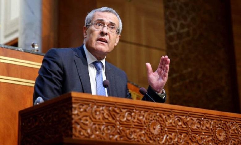 وزير العدل:  الاعلان عن المخطط التوجيهي للتحول الرقمي لمنظومة العدالة في الأيام المقبلة