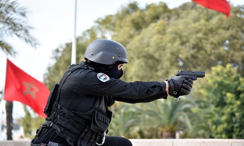 برشيد: اشهار السلاح لتوقيف شخص عرض عناصر الشرطة لتهديد جدي