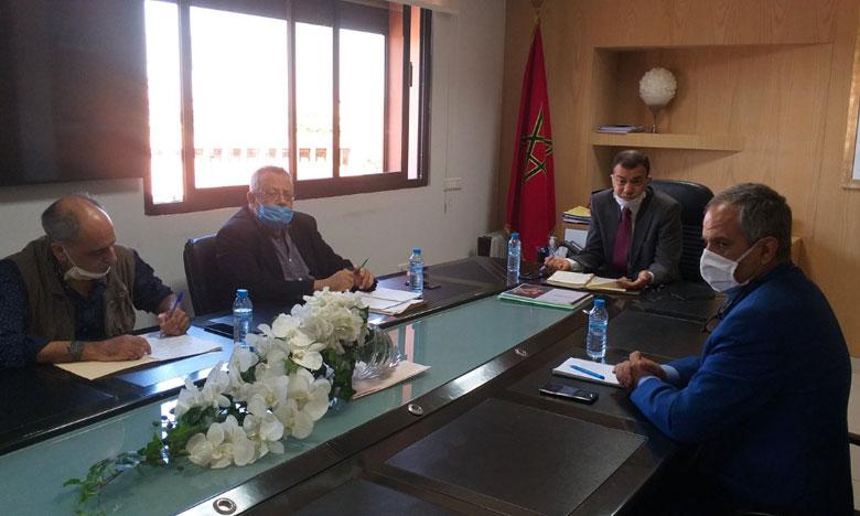 تشجيع الاستثمار محور  اجتماع الوكالة الحضرية لمراكش والمجلس الجهوي للمهندسين المعماريين