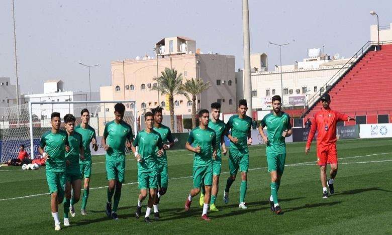 المنتخب المغربي لأقل من 20 سنة يخوض تداريبه لكرة القدم