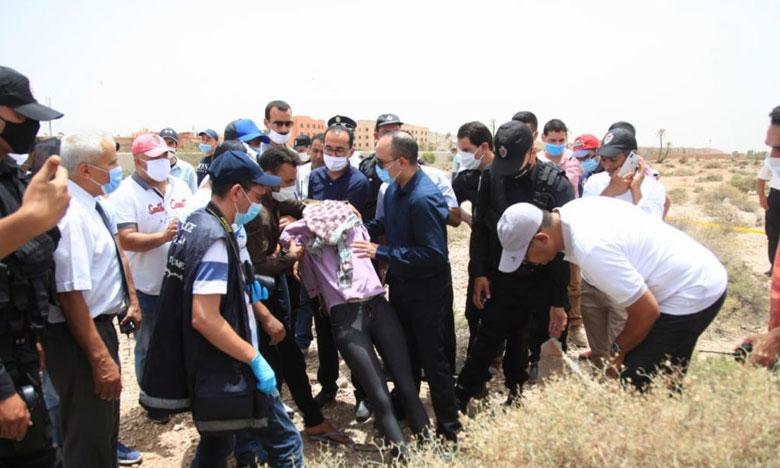مراكش: إعادة تمثيل جريمة قتل فتاة عثر على جثتها بمحطة معالجة المياه العادمة بالعزوزية