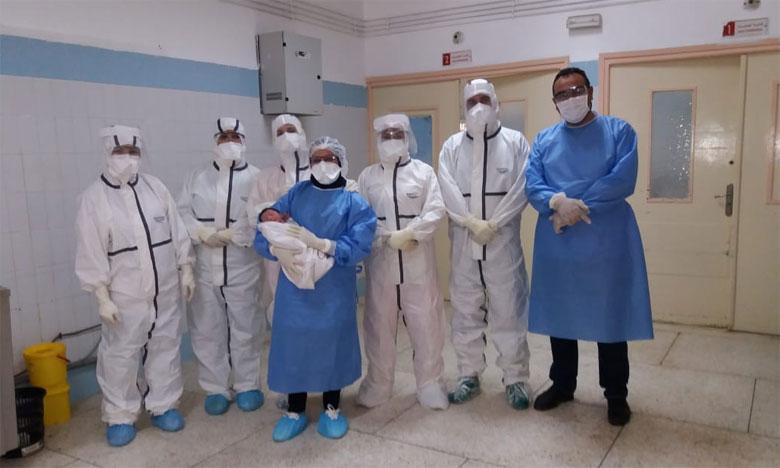 فريق طبي بفاس يُخضع مصابة بفيروس كوفيد-19 لعملية ولادة قيصرية ناجحة