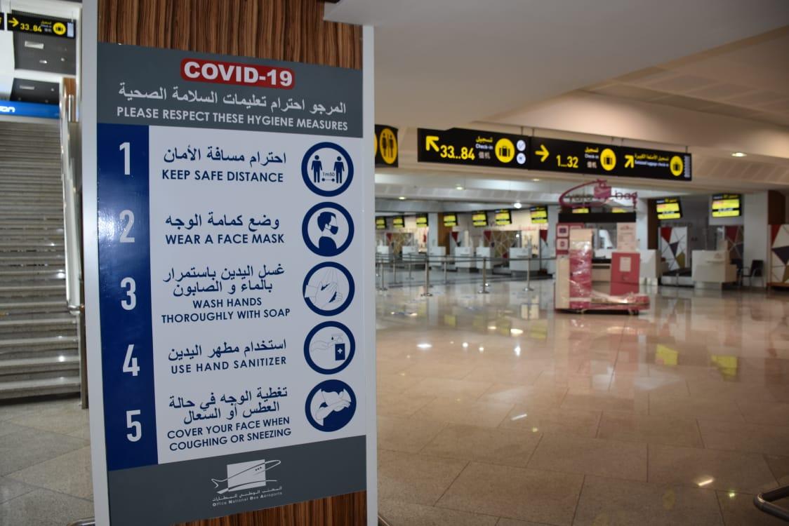 المكتب الوطني للمطارات يضع مخططا لاستقبال آمن وصحي للمغاربة والأجانب المقيمين بالمملكة