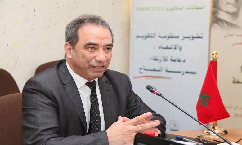 محمد الساسي: مراكز الامتحان تقيدت بالصرامة المطلوبة وبالمقتضيات والإجراءات المحددة لتأمين سلامة المترشحين