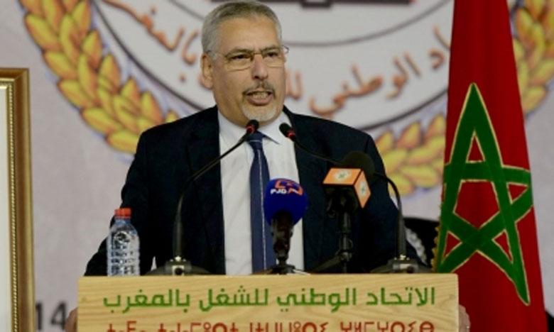 عبد الإله حلوطي: المذكرة الموجهة لرئيس الحكومة تضمنت 100 إجراء وتدبير تتعلق بتخفيف الحجر وخطة إنعاش الاقتصاد الوطني