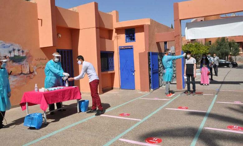 أجواء إيجابية خلال اليوم الأول من اجتياز الامتحان الوطني لنيل شهادة البكالوريا 2020 بمراكش