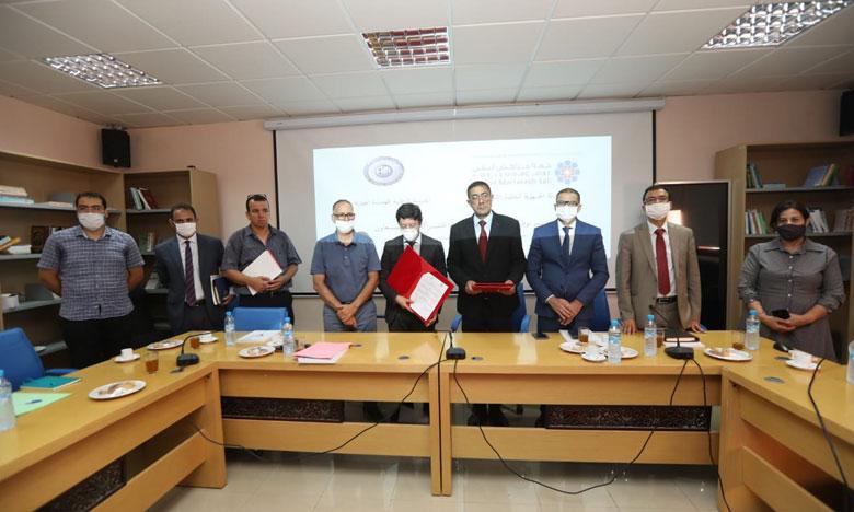اتفاقية تعاون بين الوكالة الجهوية لتنفيذ المشاريع لجهة مراكش آسفي والمدرسة الوطنية للهندسة المعمارية