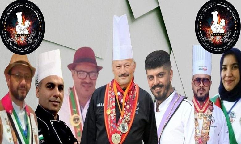 فوز مغاربة في البطولة العربية لفنون الطهي التقليدي والتراثي لاتحاد طهاة العالم العربي