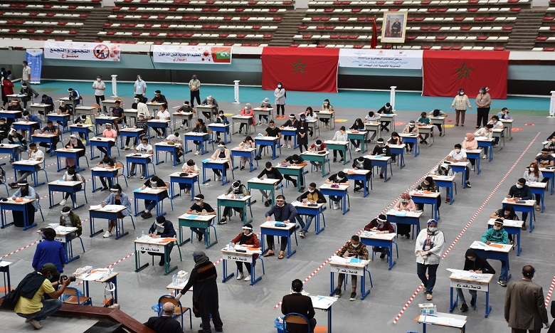 سيدي إفني: توقيف مترشح لاجتياز امتحانات الباكالوريا لارتكاب الغش